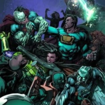 Final Issue Of Forever Evil And Justice League #29 Slip Till April