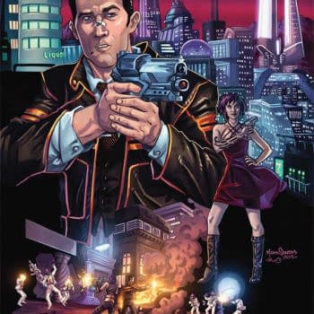 Red City, New Sci-Fi Noir By Daniel Corey And Mark Dos Santos In June From Image Comics