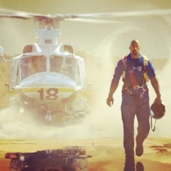 First Image Of Dwayne The Rock Johnson In Earthquake Disaster Flick San Andreas