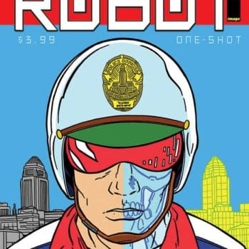 David Quantick And Shaky Kane's New Comic, That's Because You're A Robot, From Image In June