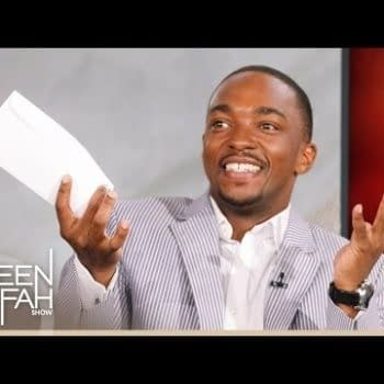 Late Night Fun – Anthony Mackie Is The Gift That Keeps On Giving
