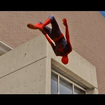 Late Night Fun &#8211 Spider-Man Parkour