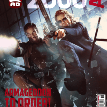 Preview This Week's 2000AD – Judge Dredd, Outlier, Slaine, Sinister Dexter And Jaege