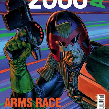 Preview This Weeks 2000AD &#8211 Judge Dredd Outlier Slaine Sinister Dexter And Jaegir