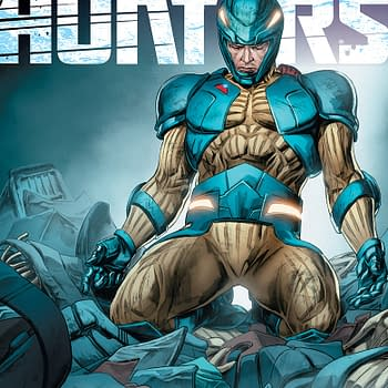 First Look At Armor Hunters #1 From Valiant