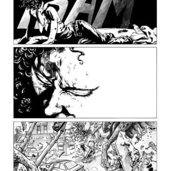 Inside A Personal Apocalypse – Process On Abe Sapien #12 From Max Fiumara and Dave Stewart