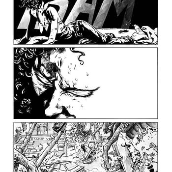 Inside A Personal Apocalypse &#8211 Process On Abe Sapien #12 From Max Fiumara and Dave Stewart