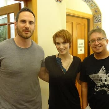 A Look At The Voice Recording Of John Layman And Rob Guillorys Chew With Felicia Day And Steven Yeun