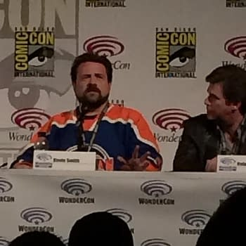 Batmans Greatest Villain Is His Humanity &#8211 Kevin Smith Jim Lee Bruce Timm Kevin Conroy Talk Batty At Wondercon