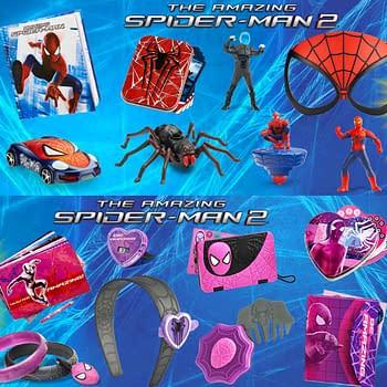 McDonalds Breaks Gender Barrier With Amazing Spider-Man 2 Girls Toys
