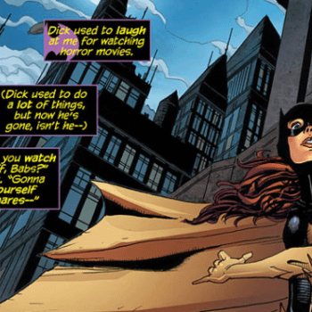 Batgirl Really Seems To Think Dick Grayson Is Dead. We're Not So Sure.