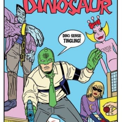 Shaky Kane And Kek-W's Cap'N Dinosaur For Image Comics In July