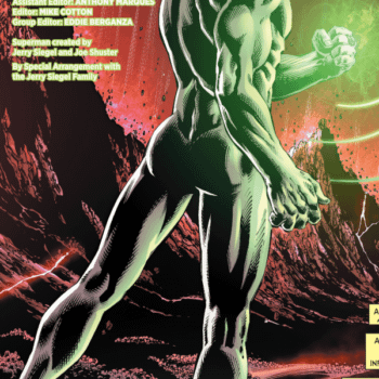 Nicola Scott's Green Lantern Brokeback Pose, From C2E2?
