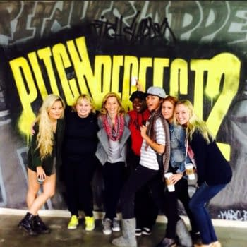 Rebel Wilson Shares First Photo From Pitch Perfect 2 Rehearsals