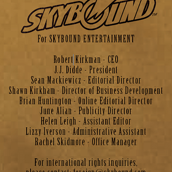 Skybound And Its Ghost President J.J. Didde