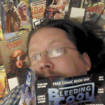 Thirty-One Reviews Of Thirty-One Free Comic Book Day 2014 Titles – Futures End, Uber, Grimm's Fairy Tales, Hello Kitty, Hip Hop Family Tree, Overstreet, Jellaby, Buck Rogers, Teen Titans Go, Street Fighter, Steam Wars, All You Need Is Kill, Raising A Reader, Atomic Robo, Archie, Bongo, Les Miserables, Sherwood Texas, History Of Japan, Scratch 9,  Bleeding Cool Magazine, Defend Comics, Sonic, Tick, Fubar, Kaboom, Spongebob Squarepants, Epic, Uncle Scrooge, Scam and Intrinsic