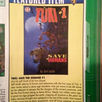 Jeff Smith's Tuki Save The Humans Gets An Upgrade Before Publication