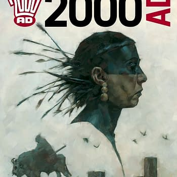 Preview This Weeks 2000AD &#8211 Judge Dredd Indigo Prime Slaine Thargs 3Rillers Outlier
