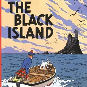 Tintin: The Black Island Cover Art To Hit A Million Dollars