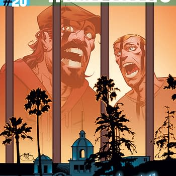 Preview Of Archer &#038 Armstrong #20 American Wasteland Begins