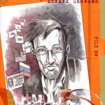 Preview: The Edward Snowden Story by Valerie D'Orazio and Lauer Oliveira