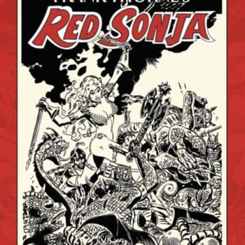 Inside Look At Frank Thorne's Red Sonja Artist Edition Vol II