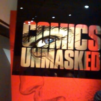 Walking Round Comics Unmasked: Art And Anarchy In The UK At The British Library (Photos + Video)