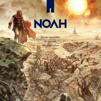 The Graphic Novel Of Aronofsky's Noah Is Otherworldly Thanks To Handel And Henrichon