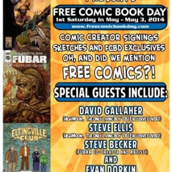 How The Only Living Boy Is Celebrating Free Comic Book Day – In Staten Island And Everywhere