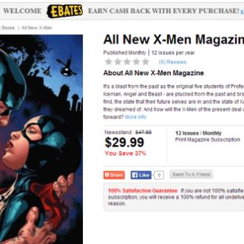 If You're Going To Get 65% Off Comic Subscriptions, Do It Now