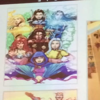 Boom! Announces George Perez' Sirens, Based On His Favourite Cosplayers, And A New Jim Henson Graphic Novel (UPDATE x2)