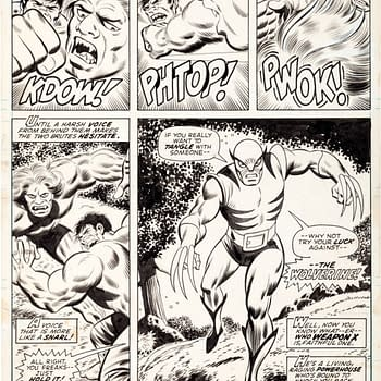 First Appearance Of Wolverine Original Art By Herb Trimpe Sells For Record $657,250