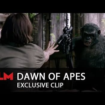 New Clip From Dawn Of The Planet Of The Apes Takes A Dark Turn
