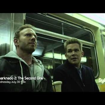 Sharks On The Subway In First Clip From Sharknado 2: The Second One