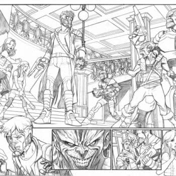 Mexican Comic Store To Display Paco Medina's Original Art From Legendary Starlord #1 Ahead Of Guardians Of The Galaxy Release