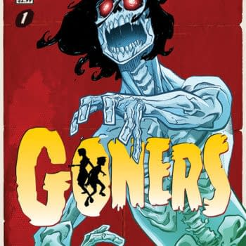 Piecing Together A New Image Comic For October – Goners Is 'Goonies Meet Hellboy'