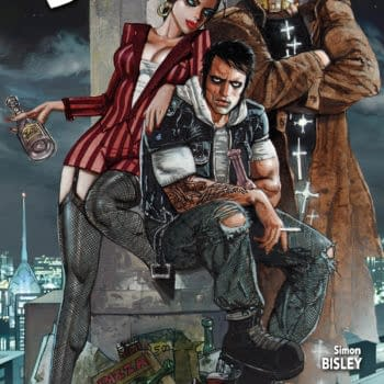 Sneak Preview – Supernatural Noir 13 Coins From Hitman Writers And Simon Bisley