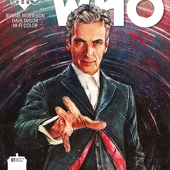 The Twelfth Doctor Series To Start From Titan Comics In October From Robbie Morrison And Dave Taylor