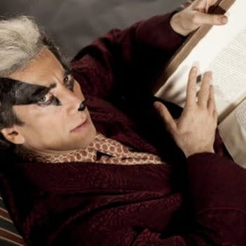 Neil Gaiman Cosplaying As Badger From The Wind In The Willows