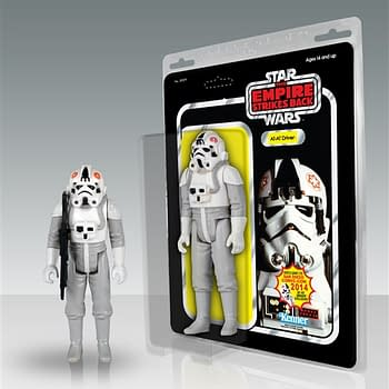 San Diego Comic Con 2014 Exclusive From Gentle Giant &#8211 A Footlong AT-AT Driver