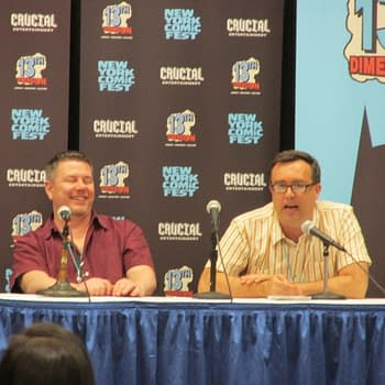 When Bleeding Cool Hosted Dean Haspiel Fred Van Lente Justin Gray And Dan Goldman On Writing Comics At The New York Comic Fest + Audio