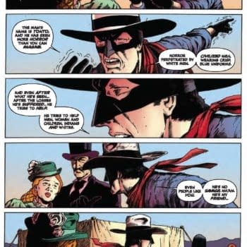 Writer's Commentary – Lone Ranger #25 By Ande Parks