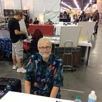 Wizard World Philly: Marv Wolfman Sam Ellis Cosplay And Howard The Duck
