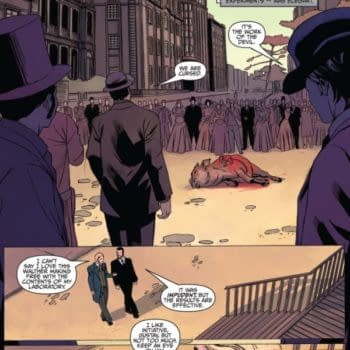 Writer's Commentary – Sherlock Holmes: Moriarty Lives #4 By David Liss