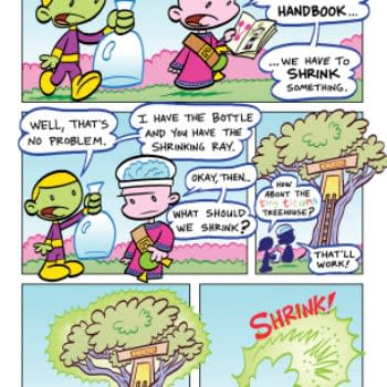 Tiny Titans – Return To The Treehouse For Six Issues And Belly Laugh