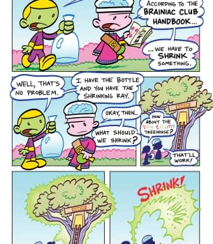 Tiny Titans &#8211 Return To The Treehouse For Six Issues And Belly Laugh