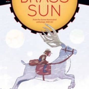 Brass Sun #1 Sells Out Of 4,000 First Print, V-Wars #2 Sells Out Of 9,500