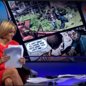A Drunk Mark Millar On BBC Newsnight And Previews Of MPH #2