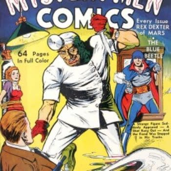 Happy Birthday, Blue Beetle: Today Is The 75th Anniversary Of His First Appearance In Mystery Men Comics #1