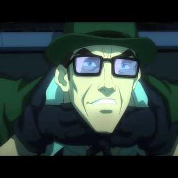 Opening Scene For Batman: Assault On Arkham